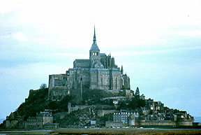 Mont St. Michel, Brittany, France