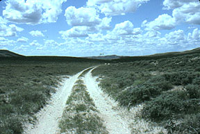 The Overland Trail, South Pass, Wyoming